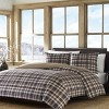 Port Gamble Plaid Duvet Cover And Sham Set Navy - Eddie Bauer® - image 2 of 4