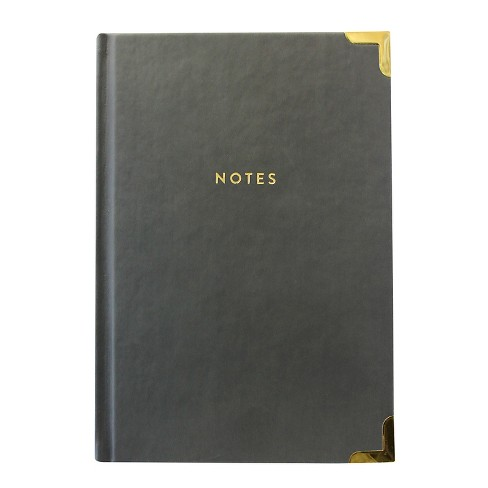Eccolo Lined Journal Hardcover w/ Gold Corners - Colors Vary - image 1 of 2