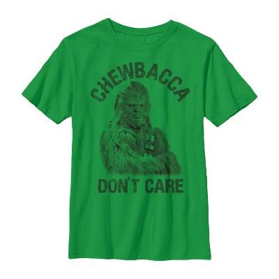 Boy's Star Wars Chewbacca Don't Care T-Shirt