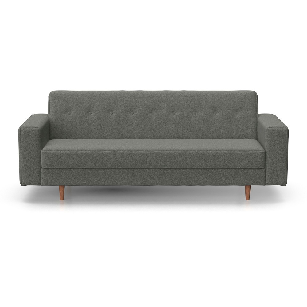 Image of Jasper Mid Century Modern Sofa Charcoal - AF Lifestlye, Grey