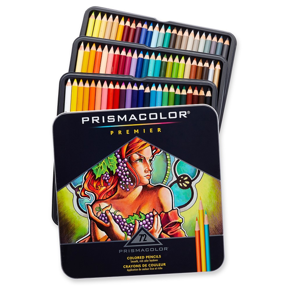 Prismacolor Premier Colored Pencils 72ct, Multi-Colored