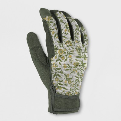 Polyester Gardening Gloves Green S/M - Smith & Hawken™