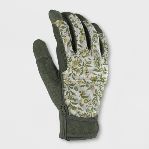 Polyester Gardening Gloves Green S/M - Smith & Hawken™ - image 1 of 1