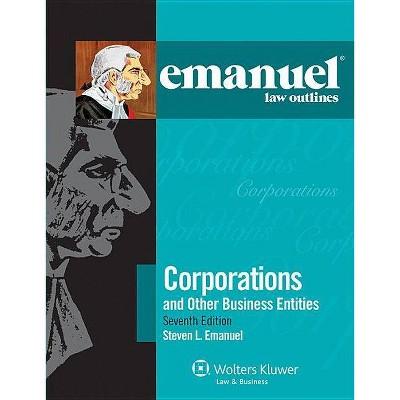 Emanuel Law Outlines - 7th Edition by  Steven Emanuel (Paperback)