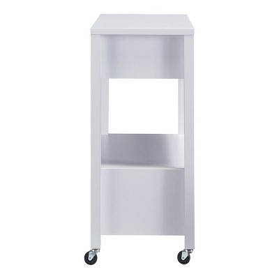 Umberra 2 Drawer Kitchen Cart White - HOMES: Inside + Out