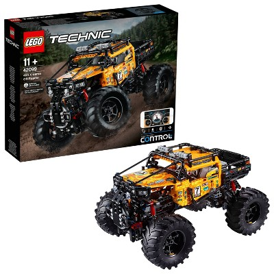 LEGO Technic 4X4 X-treme Off-Roader Toy Truck Building Set STEM Toy with App 42099