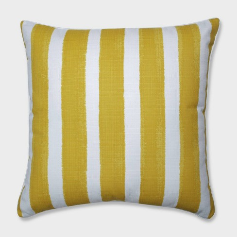"25"" Nico Pineapple Floor Pillow Yellow - Pillow Perfect - image 1 of 2"