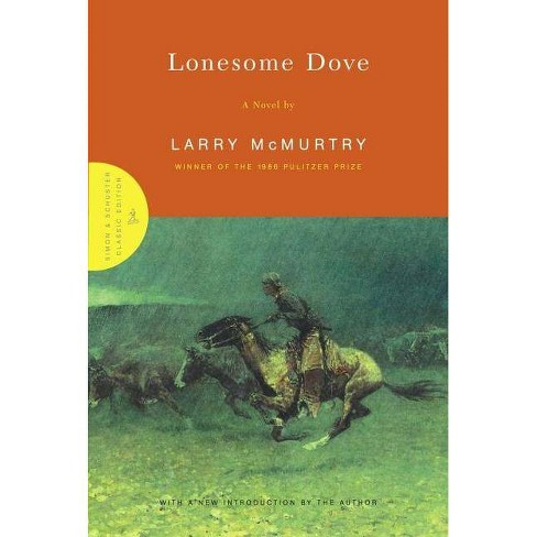 Lonesome Dove - (Simon & Schuster Classics) by  Larry McMurtry (Hardcover) - image 1 of 1