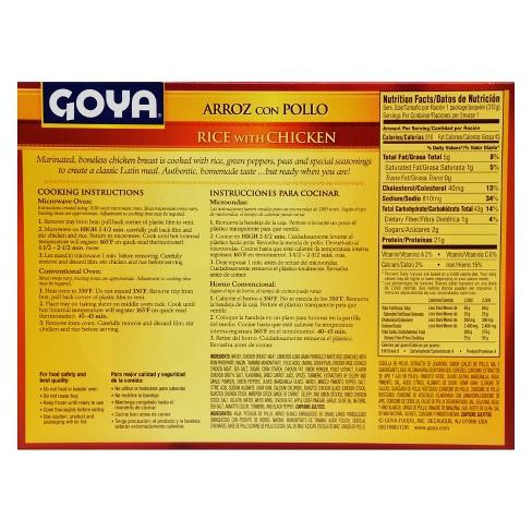 Goya Frozen Rice With Chicken 11oz Target