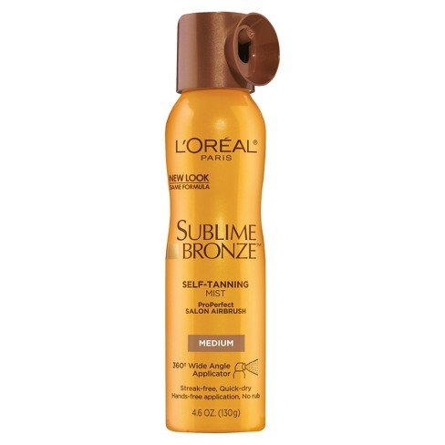 L'Oreal Paris Sublime Bronze Self-Tanning Mist Medium - 4.6 fl oz - image 1 of 3