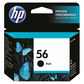 HP 56 Single Ink Cartridge - Black (C6656AN#140)