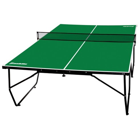 Franklin Sports 9 X 5 Easy Assembly Table Tennis Table