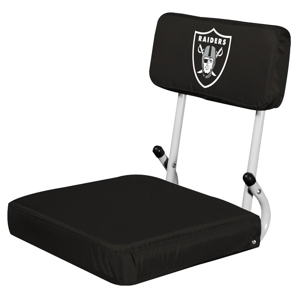 NFL Oakland Raiders Portable Hardback Seat