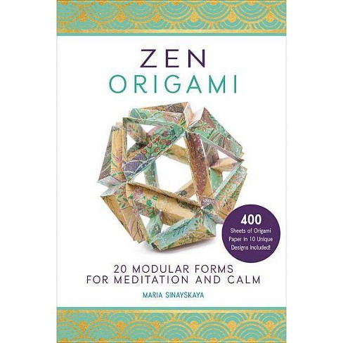 Zen Origami - by  Maria Sinayskaya (Paperback) - image 1 of 1