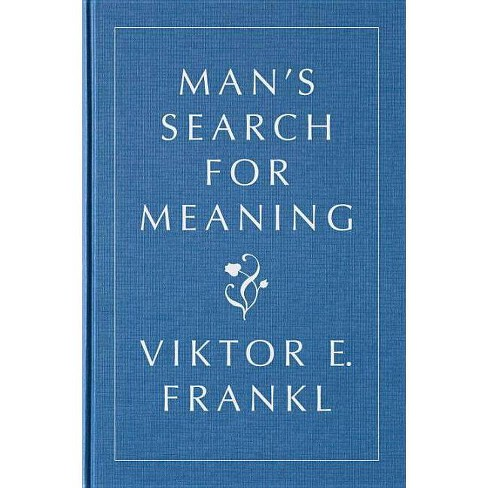 Man's Search for Meaning, Gift Edition - by  Viktor E Frankl (Hardcover) - image 1 of 1