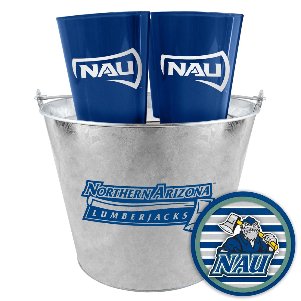 Northern Arizona Lumberjacks Boelter Tailgate Bucket Set