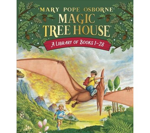 Magic Tree House Library Books 1-28 (Paperback) (Mary Pope Osborne) - image 1 of 1