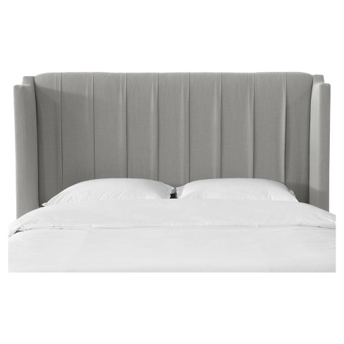 Finley Pleated Wingback Headboard - Skyline Furniture® - image 1 of 4