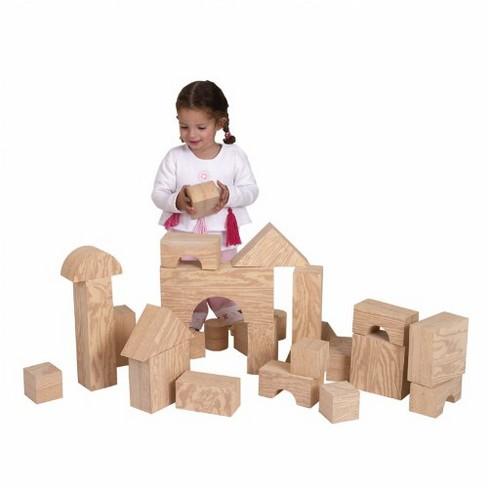 "Edushape Jumbo Foam ""Wooden"" Blocks - image 1 of 1"