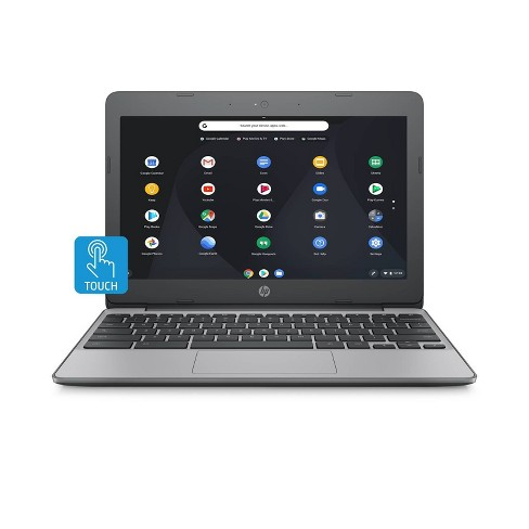 "HP 11.6"" Touchscreen Chromebook, 11+ Hour Battery, Only 2.62lbs (11-V032NR) - image 1 of 4"