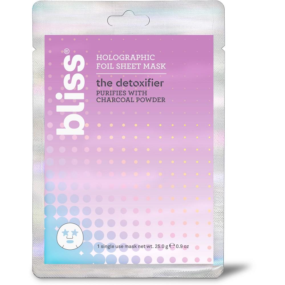 bliss The Detoxifier Foil Sheet Mask Facial Treatments - .9oz
