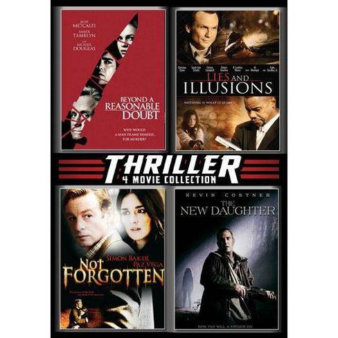 Thriller 4 Movie Collection (DVD) - image 1 of 1