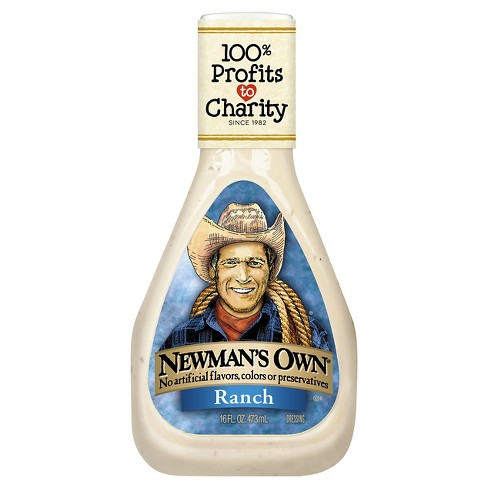 Newman's Own® Ranch Dressing - 16 fl oz - image 1 of 1