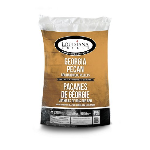 Louisiana Grills 55409 Natural Georgia Pecan Barbecue Hardwood Pellets, 40 Pound - image 1 of 1
