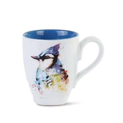 DEMDACO Blue Jay Mug 12 ounce - Blue