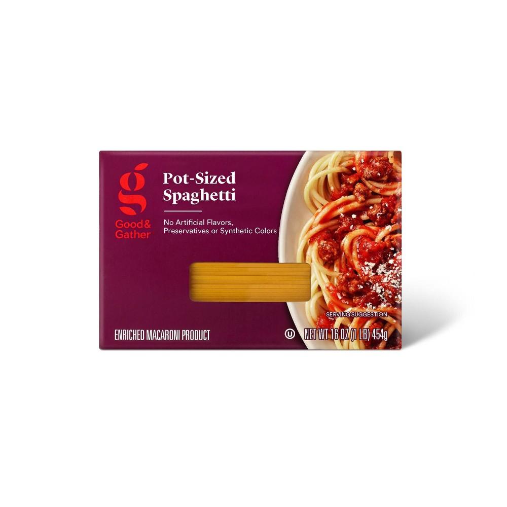 Pot Size Spaghetti 16oz Good 38 Gather 8482