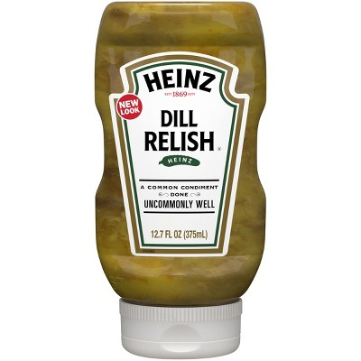 Heinz Dill Relish - 12.7 fl oz