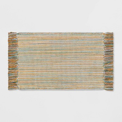 Striped Woven Bath Rug - Opalhouse™