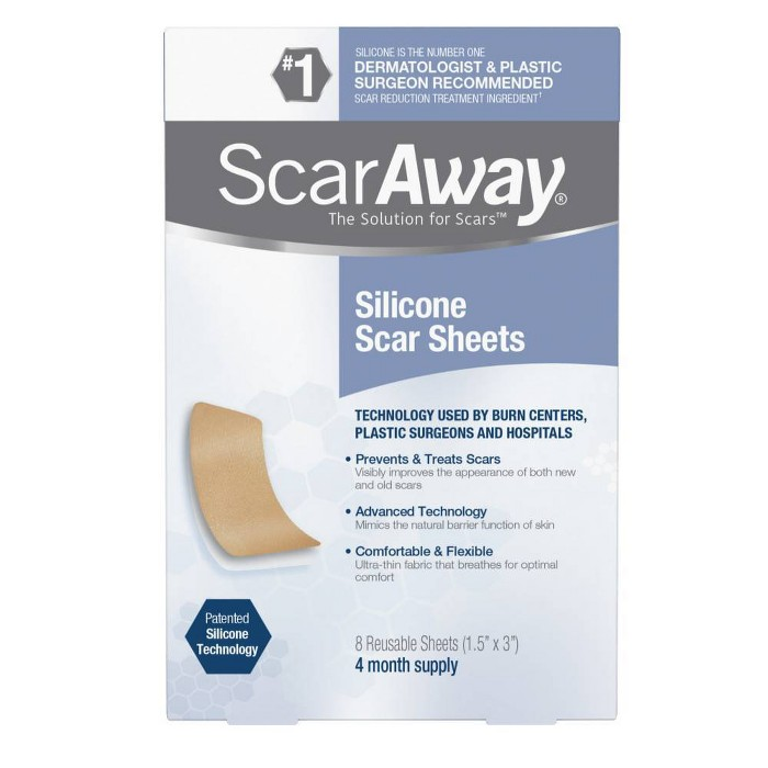 ScarAway Scar Treatment Sheets - 8ct - image 1 of 7