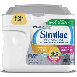 Similac Pro-Advance Non-GMO Infant Formula with Iron Powder - 23.2oz