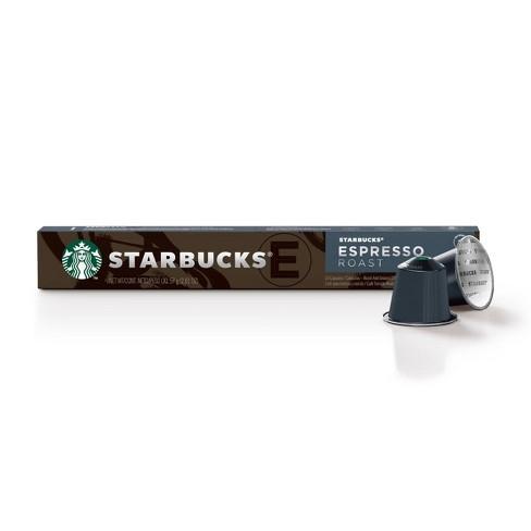 Starbucks Nespresso Espresso Roast Coffee Pods - 10ct - image 1 of 4