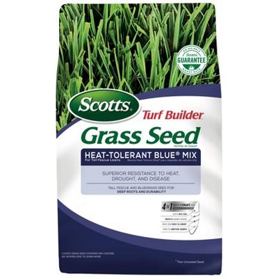 Scotts Turf Builder Heat Tolerant Blue Grass Seeds - 20lb