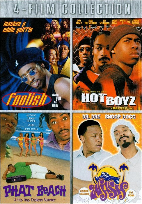 Foolish/Hot Boyz/Phat Beach/Wash (DVD) - image 1 of 1