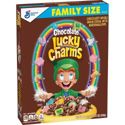 Chocolate Lucky Charms Breakfast Cereal - 19.5oz