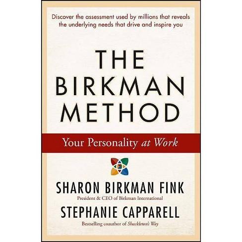 The Birkman Method - by  Sharon Birkman Fink & Stephanie Capparell (Hardcover) - image 1 of 1