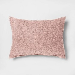 Stitched Medallion Pillow Sham - Opalhouse™