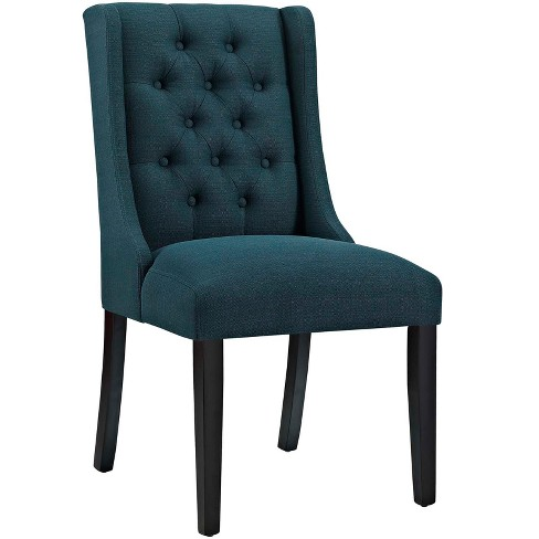 Baronet Fabric Dining Chair - Modway - image 1 of 4