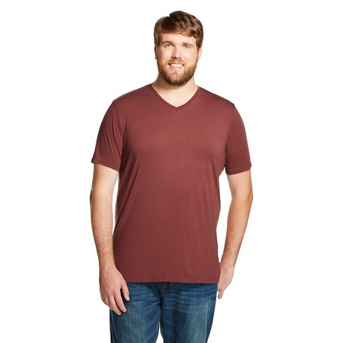 Men's Big & Tall V-Neck T-Shirt Burnout - Mossimo Supply Co.™ - image 1 of 2