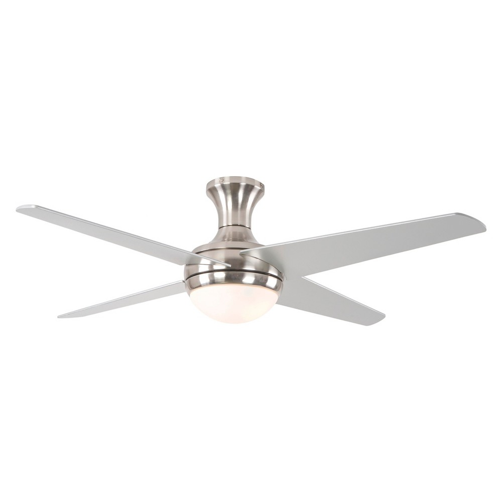 Yosemite 52 Led Ceiling Fan - Brush Nickel, Brushed Nickel