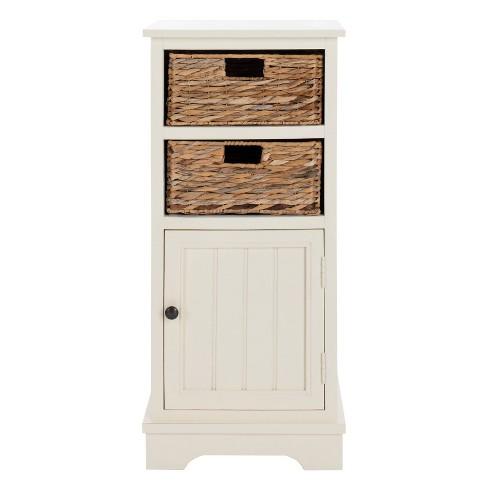 Decorative Storage Cabinets WHT - Safavieh
