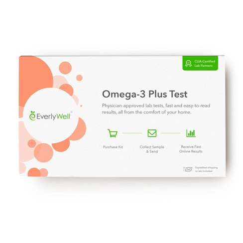 EverlyWell Omega-3 Plus Test - Lab Fee Included - image 1 of 4