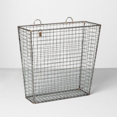 Wire Hangable Basket - Silver - Hearth & Hand™ with Magnolia