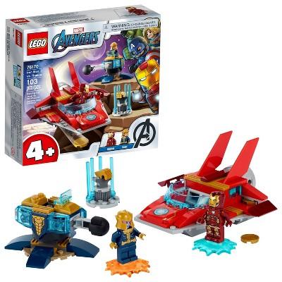 LEGO Marvel Avengers Iron Man vs. Thanos Building Toy 76170
