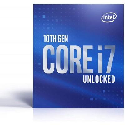 Intel Core i7-10700K Unlocked Desktop Processor - 8 cores & 16 threads - 16MB Intel Smart Cache - Up to 5.10 GHz Turbo Speed - Intel UHD Graphics 630