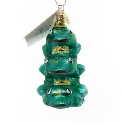 Christopher Radko Leap Of Faith Jr Ornament Frog Christmas  -  Tree Ornaments