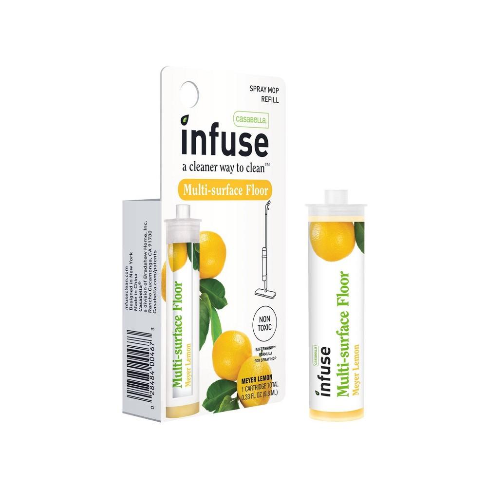 Casabella Infuse Multi-surface Floor Cleaner Refill Concentrate - Meyer Lemon - 0.33oz